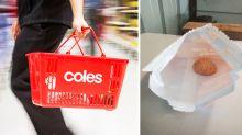 Coles shopper's bizarre find in mini cookies packet