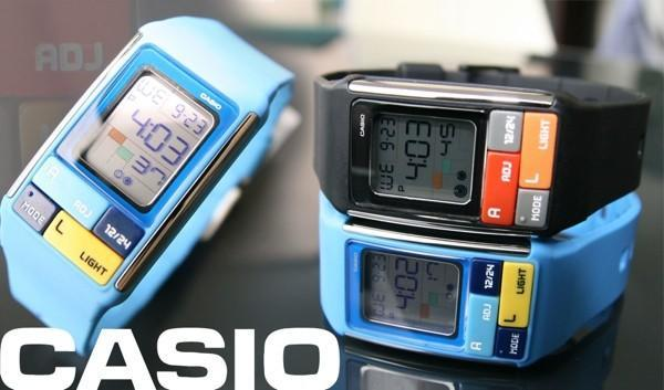 Casio's Poptone Cubic Puzzle watch is a riddle in an enigma wrapped around your wrist