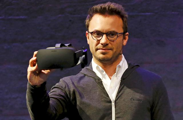 Oculus CEO Brendan Iribe steps down, will lead PC VR group