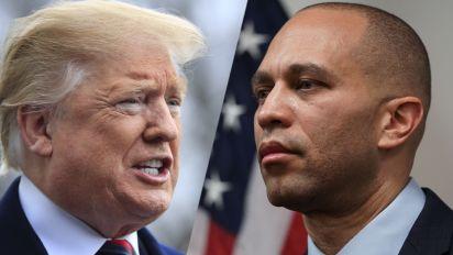 Jeffries stands by Trump-Klan leader comparison