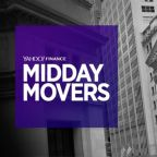 Yahoo Finance Live: Midday Movers - Nov 21st, 2017