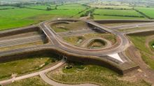 Junction which cost £50m remains unused months after completion due to lack of link road