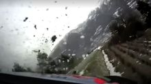 Watch rally champion Ott Tanak's spectacular crash at speed in Monte Carlo opening