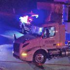 2 dead in horrific crash between car and tractor trailer