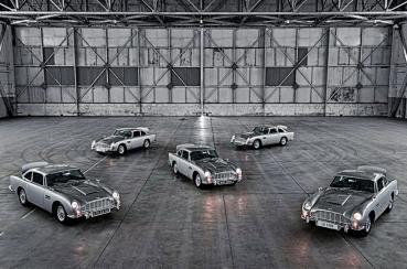 007金手指電影限量複刻ASTON MARTIN DB5老車首批5台車打造完成正式亮相