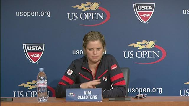 Clijsters Press Conference