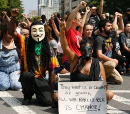 Charlotte protesters march for sixth night despite shooting video release