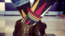 Agradece a la vida... con sus calcetines
