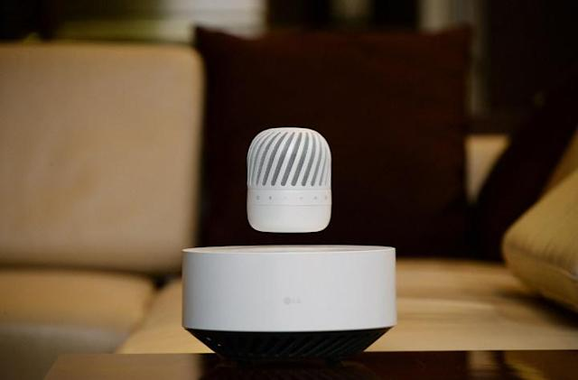 LG wants a levitating Bluetooth speaker in every home