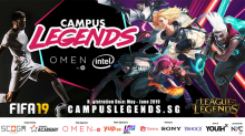 Weekly esports guide (29 July - 5 August): Campus Game Fest, Predator League Singapore, FSL LoL Philippines
