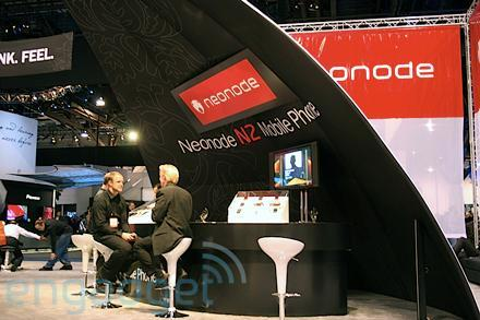 Hands-on with Neonode's N2 in new colors and a peek at the booth