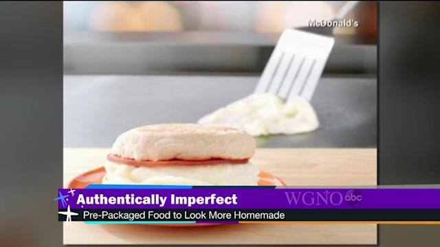 Companies re-designing food to look more homemade
