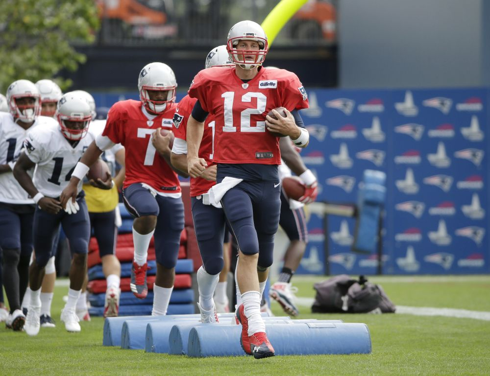Tom Brady is trying to improve upon his fantastic 2016 season. (AP)