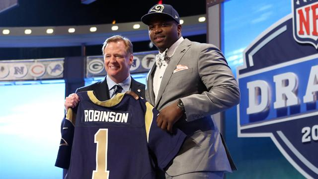 2014 NFL Draft: Rams get a B+ for Robinson pick
