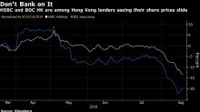 Investors Are Worrying About Hong Kong Banks as Protests Roll On