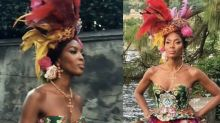 Naomi Campbell Just Killed It on the Runway at Dolce & Gabbana's Alta Moda Show in Italy