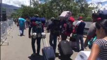 """""""Odisea"""" desde Venezuela hacia Colombia para comprar alimentos"""