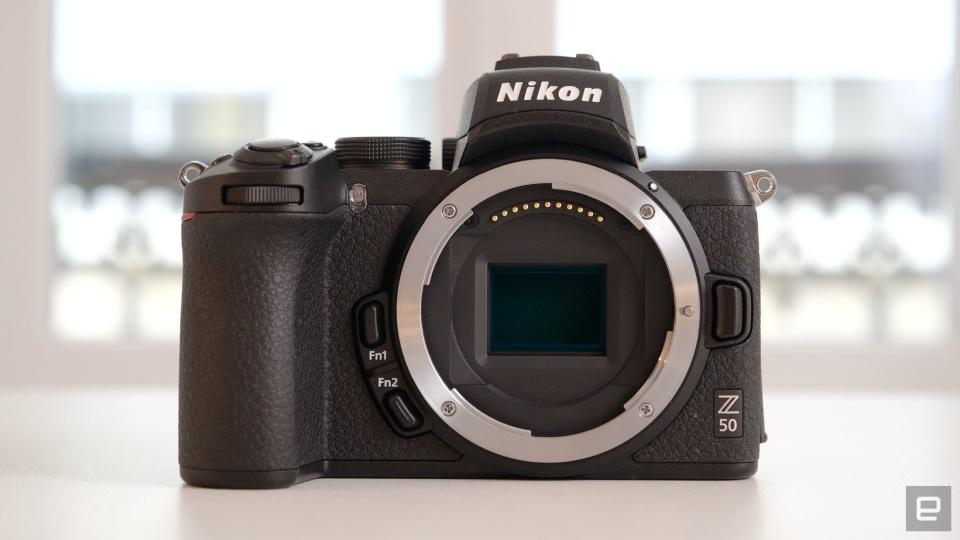 Nikon will let you use its cameras as high-end webcams | Engadget
