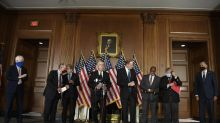 Mnuchin, Pelosi talk virus relief; GOP slashes jobless aid