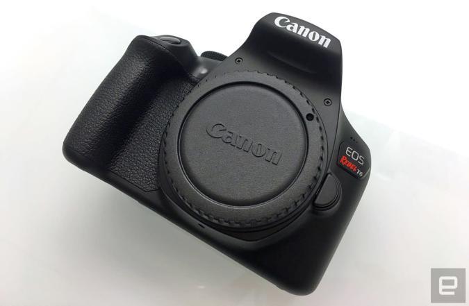 Canon's EOS Rebel T6 DSLR is geared toward beginners