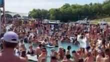 La escandalosa fiesta en el Lago de los Ozarks que podría desatar un nuevo brote de COVID-19 y convertirse en una tragedia