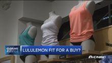 Lululemon a small, innovative company fighting to be a bi...