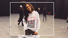 Cheryl's new merchandise has an awkward mistake on the front