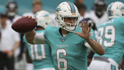 Jay Cutler's Dolphins debut wasn't great