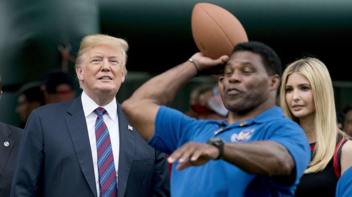As football icon eyes Senate run, a turbulent past emerges