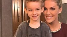 Ana Hickmann se revolta ao ver filho sendo xingado por internauta