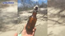 Message in a bottle from 1981 found on Georgia beach: 'Holy cow. It just brings back memories'