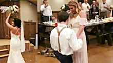 This man proposed to his girlfriend during his sister's wedding