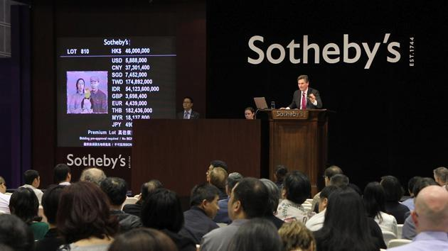 eBay and Sotheby's high-end auctions will launch next month