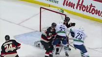 Dale Weise puts home the rebound on Anderson