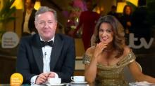 'Who did her hands, Donald Trump?': Susanna Reid's Oscars fake tan mocked