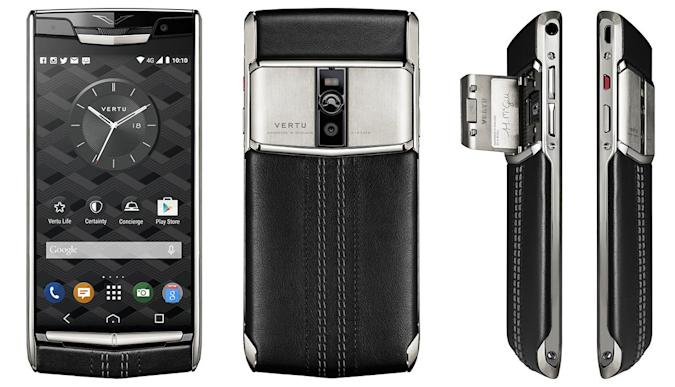Vertu's posh smartphone is probably more powerful than yours
