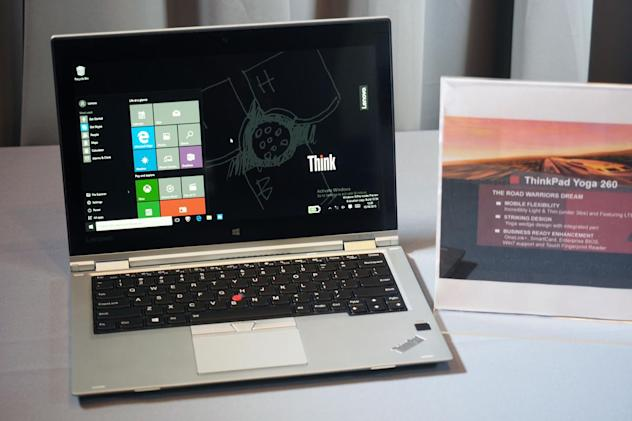 Lenovo's new ThinkPad Yogas are thinner, lighter and... silverier
