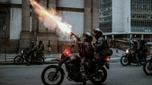 Violence mars Brazil's anti-austerity general strike