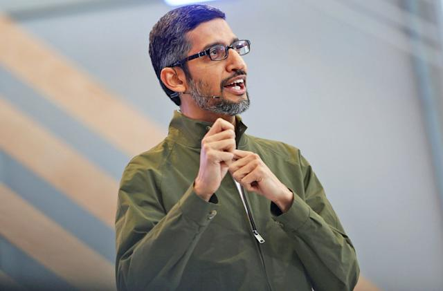 Google's CEO will testify before Congress about bias and China