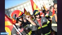 Thousands In Rome Protest Italian Austerity Cuts