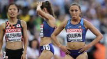 The Latest: Houlihan's name removed from trials start list