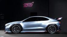 Un rendu de la future génération de Subaru WRX STI
