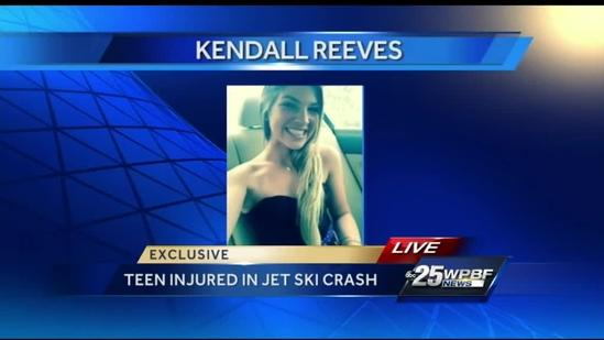 Teen injured in jet ski collision