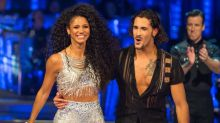 Strictly pro asks if Vick Hope's partner can resist her
