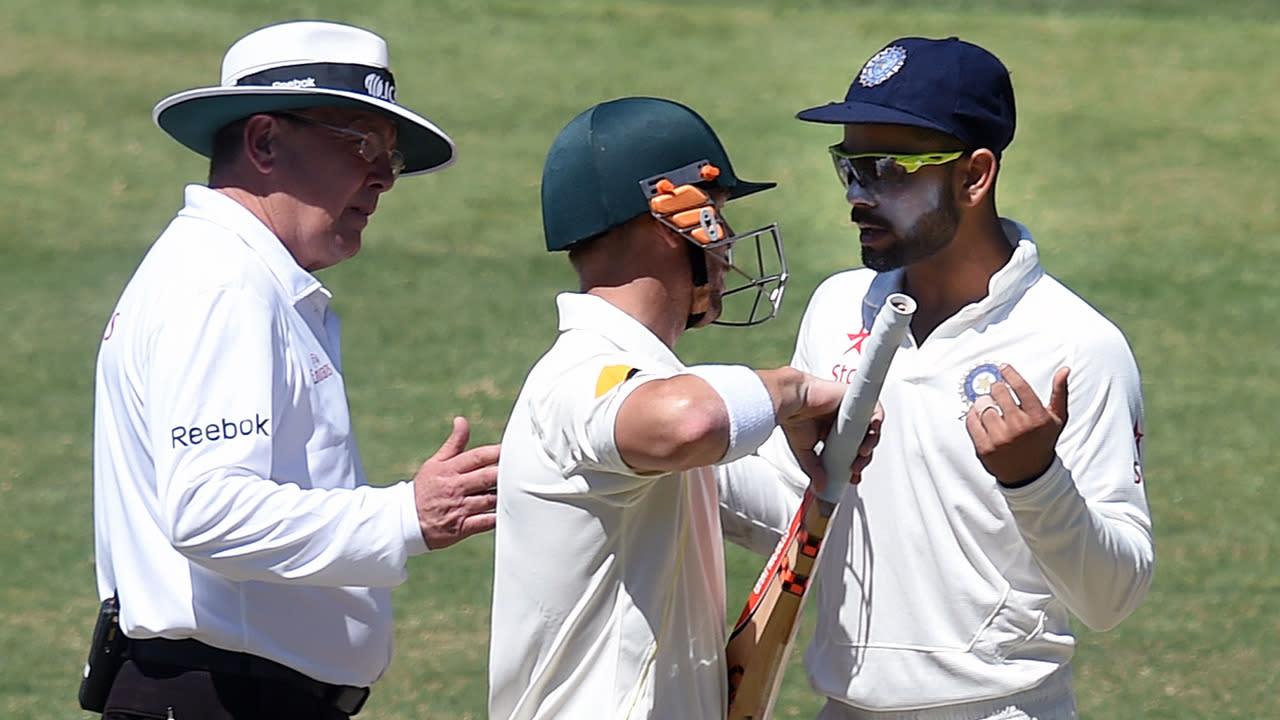 Warner vows to keep riling India