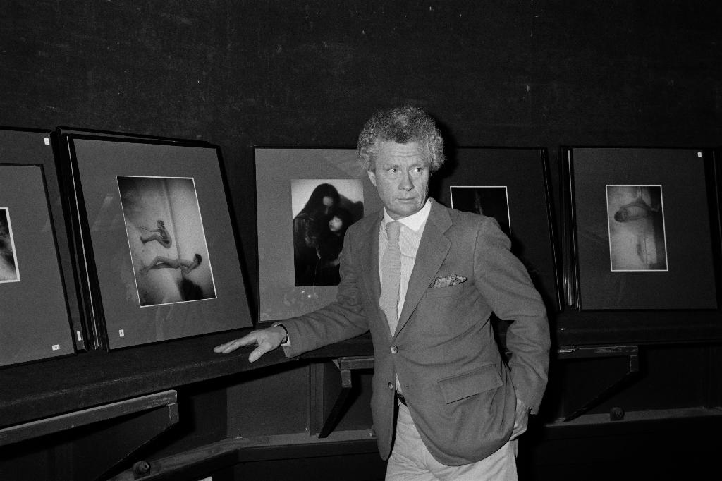 The work of British photographer David Hamilton, pictured in 1983, has long raised questions about where art ends and pornography begins (AFP Photo/Pierre Verdy)