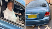 Elderly man 'waiting for his wife' abused for parking in disabled spot at Coles