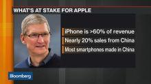 Apple Analysts See Weak iPhone Demand Amid Trade Dispute