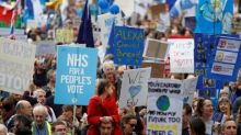 'Stop Brexit' chants at huge London march