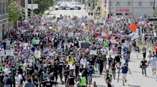 Thousands march with Jacob Blake family in Kenosha: 'We'll walk hand in hand'